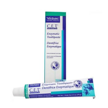 Virbac Enzymatic Toothpaste for Dogs and Cats Poultry Flavour 70g